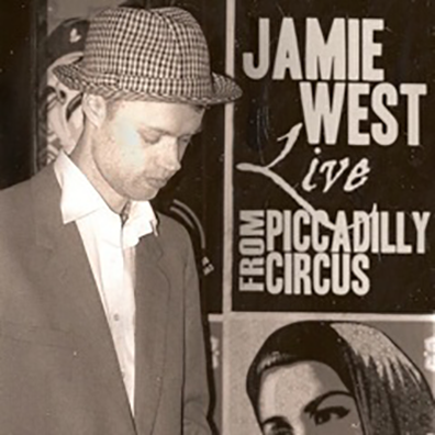 Live From Piccadilly Circus [2010] (DVD) - Jamie West Band